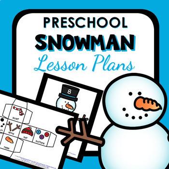 Snowman Theme Preschool Classroom Lesson Plans