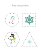 Snowman Tracing Worksheets
