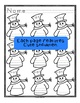 Snowman Word Family Writing - Practice Handwriting and Wor