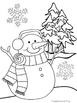 Snowman Writing Menu and Activities