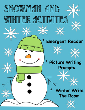 Snowman and Winter Activities