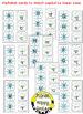 Alphabet Matching Cards ~ Snowmen/Winter/Christmas