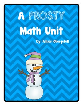 Snowmen Math Unit