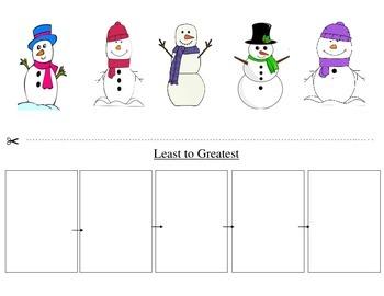 Snowmen Measuring