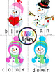 Snowmen Word Puzzles (Bundle)