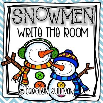 Snowmen-- Write the Room!!
