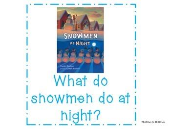 Snowmen at Night - ELA