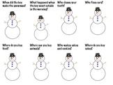 Snowmen at Work Language Packet