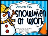 Snowmen at Work (Literature Study Printables)