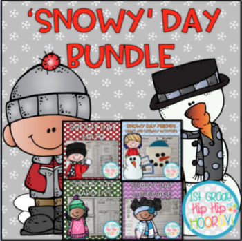 Snowy Day Bundle...Reading, Word Work, Math, Literature, a