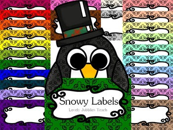 Snowy Labels