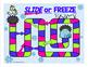 Sentences and Fragments - Slide or Freeze Grammar Game for