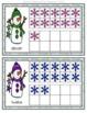 Snow Ten Frame Matching Cards