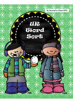 Snowy UR Word Sort