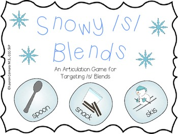 Snowy /s/ Blends: An Articulation Game