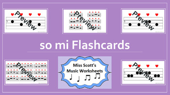 So Mi Music Flashcards
