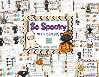 So Spooky math centers