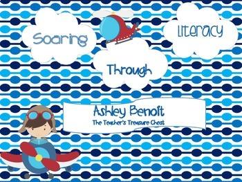 Soaring Through Math and Literacy Fun (8 Centers)