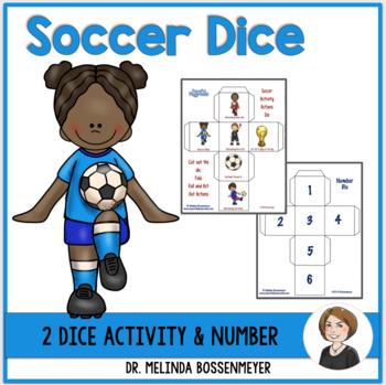 Soccer Activity Dice