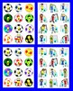 Soccer Alphabet and Counting:  Soccer ABC & 123 Match! FRE