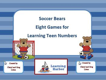 Soccer Bears   Eight Games for Teen Numbers