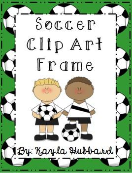Soccer Clip Art Frame