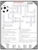 Soccer Comprehension Crossword