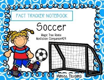 Soccer Fact Tracker Notebook (Magic Tree House Nonfiction