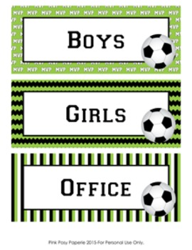 Soccer Hall Passes