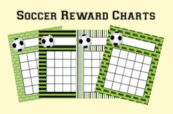 Soccer Incentive Reward Charts
