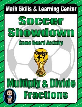 Soccer Math Skills & Learning Center (Multiply & Divide Fr