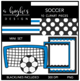 Soccer Mini Set {Graphics for Commercial Use}