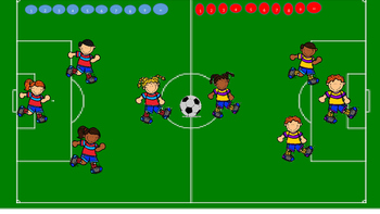 Soccer PowerPoint template - Create your own game! futbol