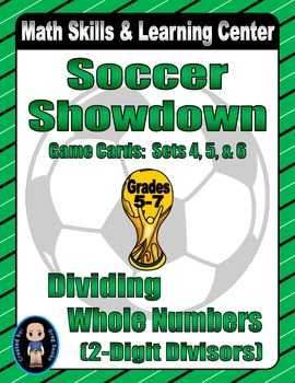 Soccer Showdown Game Cards (Division with 2-Digit Divisors