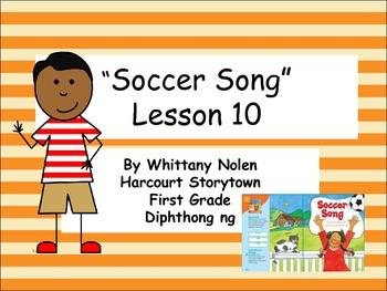 Soccer Song Storytown Lesson 10