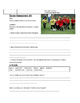 Soccer Strategy Assessment- You Be the Coach