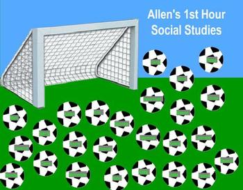 Soccer Student Selection System - Promethean Flipchart