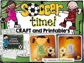 Soccer Telling Time - Creativity and Printable's