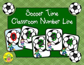 Soccer Time Classroom Number Line