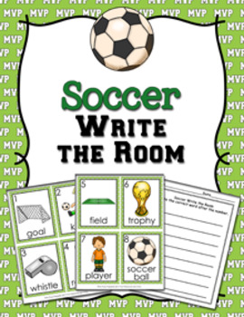 Soccer Write the Room