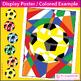 Free Soccer / football theme 'modern art' creative design