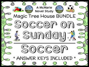 Soccer on Sunday | Soccer Fact Tracker : Magic Tree House