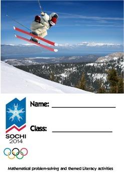 Sochi 2014 maths/numeracy and english/literacy activities PDF