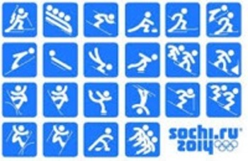 Sochi Olympic Notebook Matching Activity