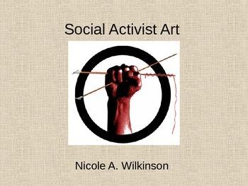Social Activist Art Responsibility Community Social Change
