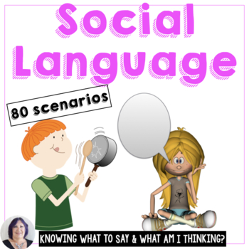 Social Communication Practice: Knowing What to Say & What