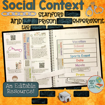 Social Context and the Stanford Prison Experiment