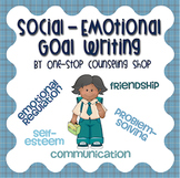 Social Emotional IEP Goal Writing Guide