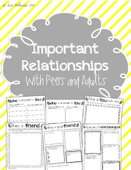 Social Emotional Relationships Pack