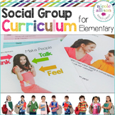 Social Group Curriculum for Elementary School Students